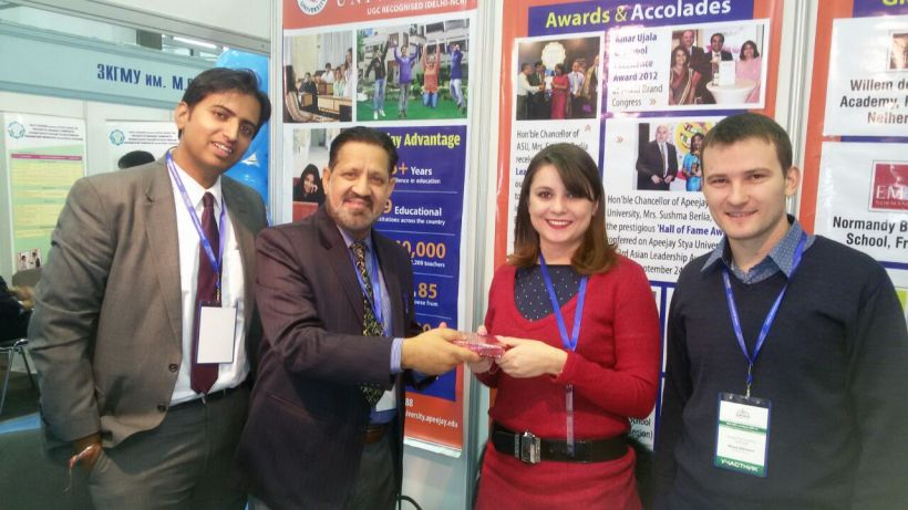 Awarding our Kazakh Partners
